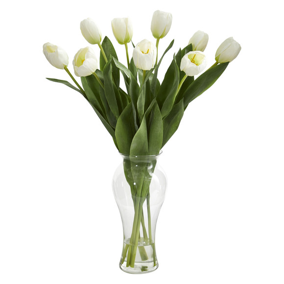 24 Tulips w/Vase - SKU #1361 - 1