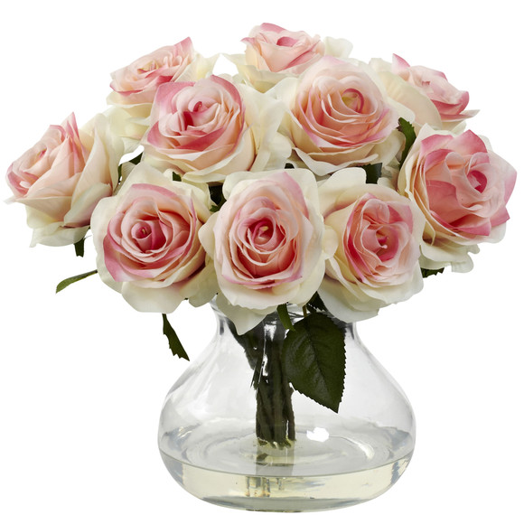 Rose Arrangement w/Vase - SKU #1367 - 6