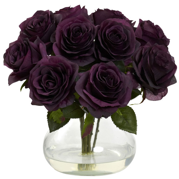 Rose Arrangement w/Vase - SKU #1367 - 7