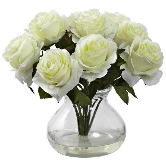 Rose Arrangement w/Vase - SKU #1367 - 2