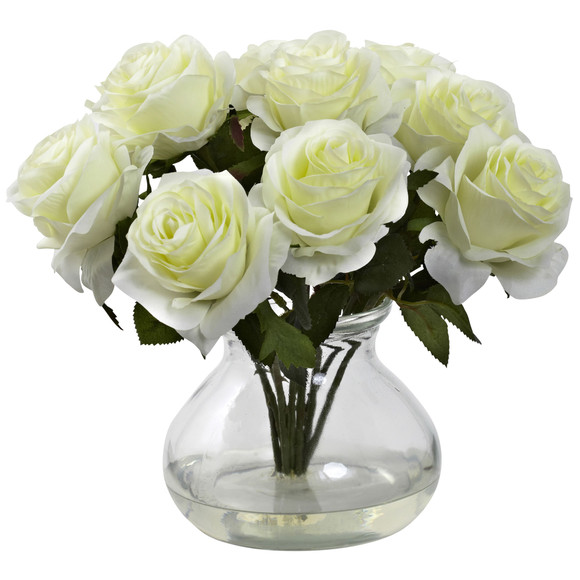 Rose Arrangement w/Vase - SKU #1367 - 2
