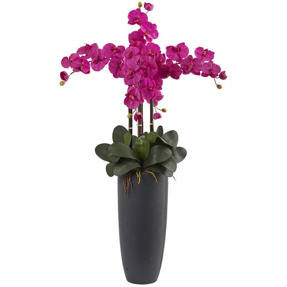 Phalaenopsis Orchid Arrangement with Bullet Planter - SKU #1369