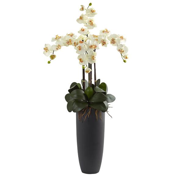 Phalaenopsis Orchid Arrangement with Bullet Planter - SKU #1369 - 5