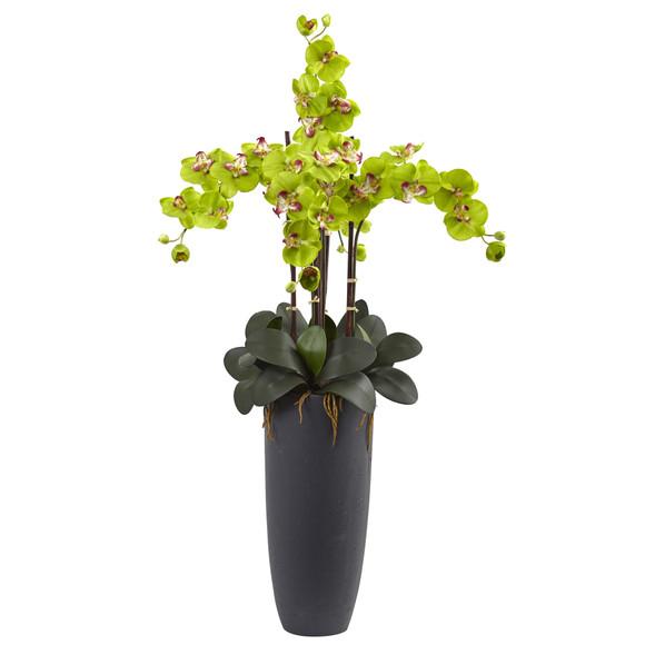 Phalaenopsis Orchid Arrangement with Bullet Planter - SKU #1369 - 7