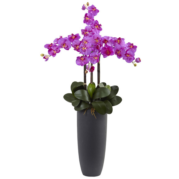 Phalaenopsis Orchid Arrangement with Bullet Planter - SKU #1369-OR