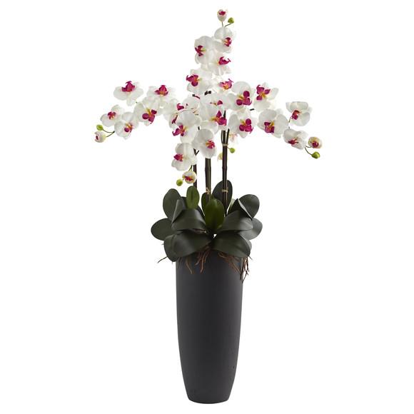 Phalaenopsis Orchid Arrangement with Bullet Planter - SKU #1369 - 2