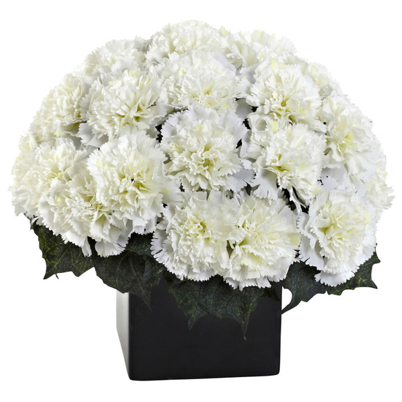 Carnation Arrangement w/Vase - SKU #1372 - 2