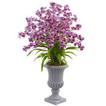 Giant Blooming Orchid Arrangement with Urn - SKU #1431-PP