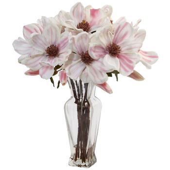 Magnolia in Shapely Vase - SKU #1468
