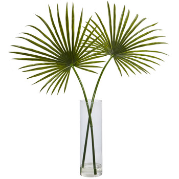 Fan Palm Arrangement - SKU #1474