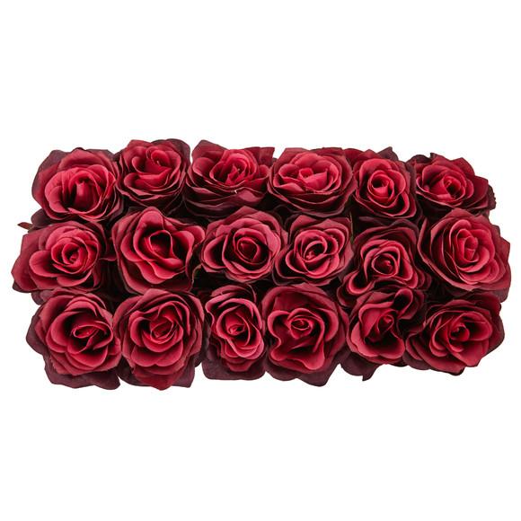 Roses in Rectangular Planter - SKU #1487 - 10