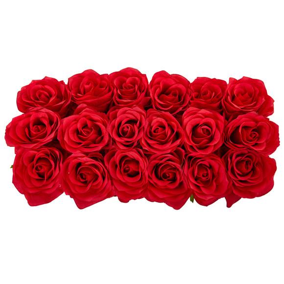 Roses in Rectangular Planter - SKU #1487 - 2
