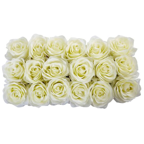 Roses in Rectangular Planter - SKU #1487 - 6
