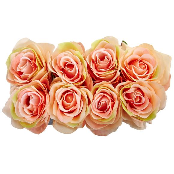 Roses Arrangement in Black Vase - SKU #1510 - 11