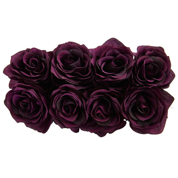 Roses Arrangement in Black Vase - SKU #1510 - 20