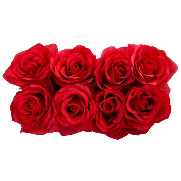Roses Arrangement in Black Vase - SKU #1510 - 2