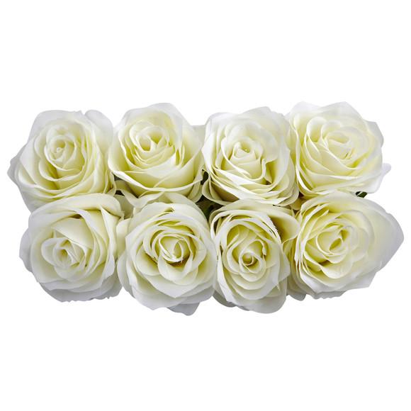 Roses Arrangement in Black Vase - SKU #1510 - 5