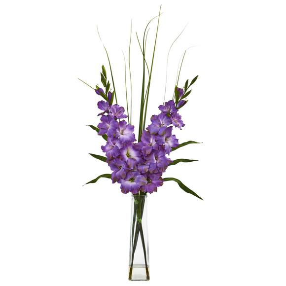 Gladiola Artificial Arrangement - SKU #1622 - 2