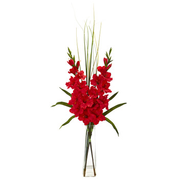 Gladiola Artificial Arrangement - SKU #1622