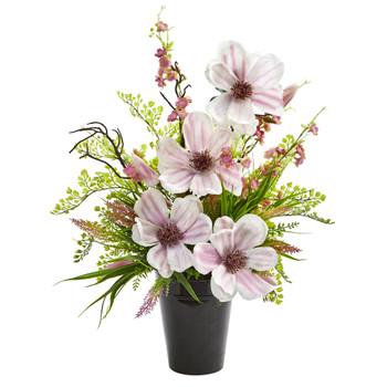 Magnolias Cherry Blossom Artificial Arrangement - SKU #1697