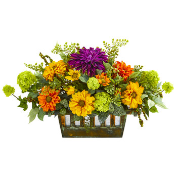 26 Mixed Floral Arrangement - SKU #1719