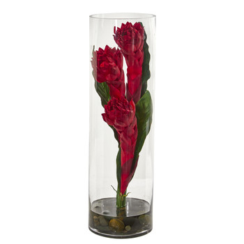Ginger Torch Artificial Arrangement - SKU #1729
