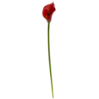 19.5 Calla Lily Artificial Flower Set of 12 - SKU #2113-S12