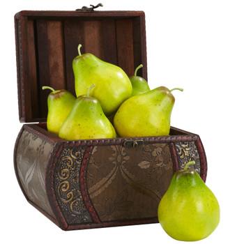 Faux Pear Set of 6 - SKU #2138