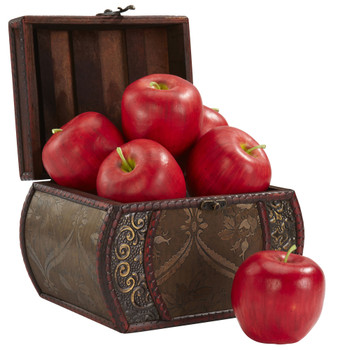 Faux Apple Set of 6 - SKU #2139