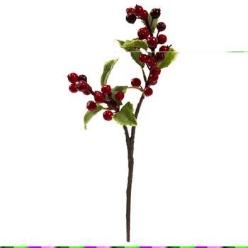 16 Holly Berry Artificial Flower Set of 6 - SKU #2176-S6
