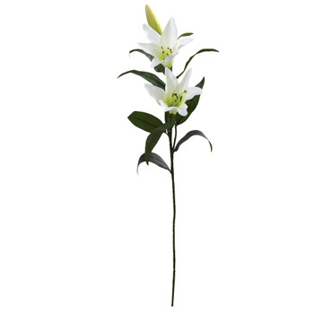 26.5 Lily Artificial Flower Set of 12 - SKU #2181-S12