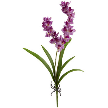 30 Orchid Artificial Flower Set of 6 - SKU #2223-S6-PP