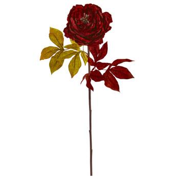 30 Peony Artificial Flower Set of 6 - SKU #2246-S6