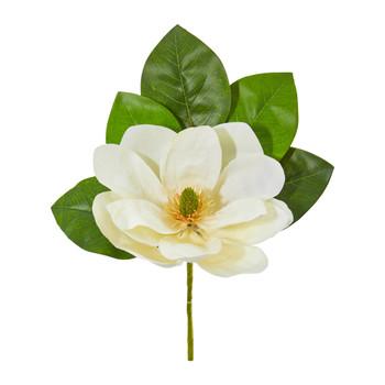 18 Magnolia Artificial Flower Set of 6 - SKU #2277-S6