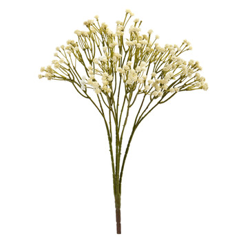 16 Gypsophillia Spray Artificial Flower Set of 12 - SKU #2285-S12-CR