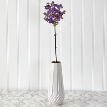 32 Lilac Artificial Flower Set of 4 - SKU #2351-S4