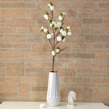 41 Cherry Blossom Artificial Flower Set of 3 - SKU #2353-S3