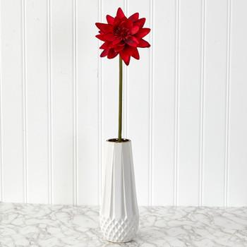 28 Lotus Artificial Flower Set of 4 - SKU #2354-S4