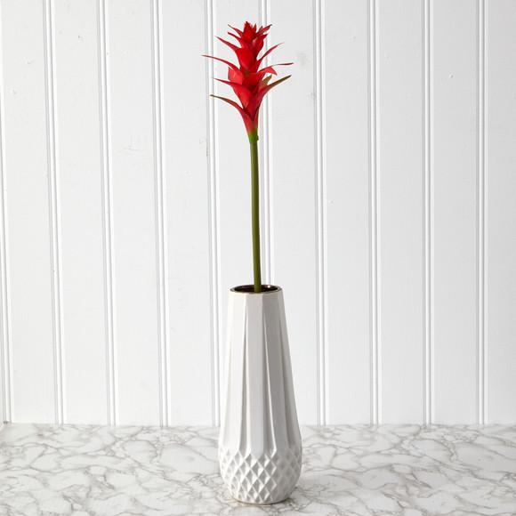 23 Star Bromeliad Artificial Flower Set of 6 - SKU #2361-S6