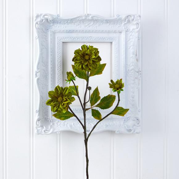 30 Daisy Artificial Flower Set of 6 - SKU #2373-S6-GR