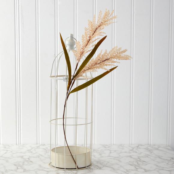 30 Sorghum Harvest Artificial Flower Set of 12 - SKU #2374-S12-CR