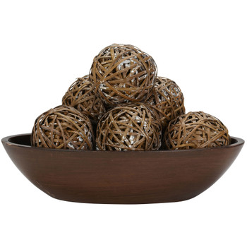 Decorative Balls Set of 6 - SKU #3023