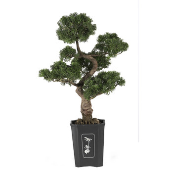 Cedar Bonsai 36 Silk Plant - SKU #4100
