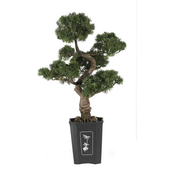 Cedar Bonsai 36 Silk Plant - SKU #4100
