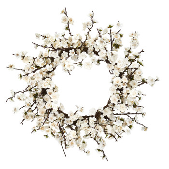 24 Plum Blossom Wreath - SKU #4191