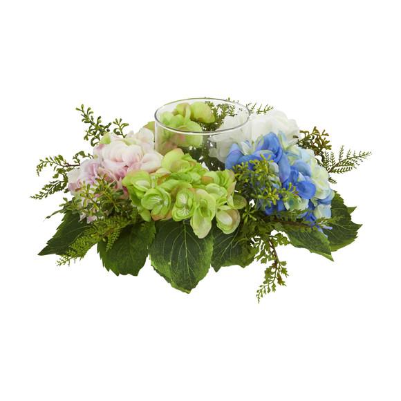 Hydrangea Artificial Candelabrum - SKU #4209