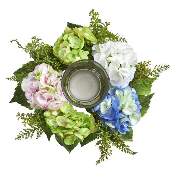 Hydrangea Artificial Candelabrum - SKU #4209 - 1