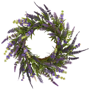18 Lavender Wreath - SKU #4215