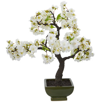 Cherry Blossom Bonsai Artificial Tree - SKU #4217