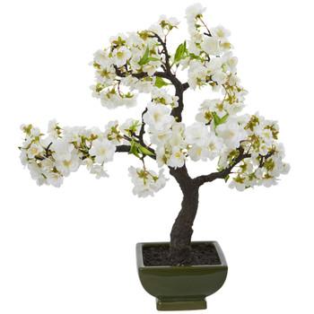 Cherry Blossom Bonsai Artificial Tree - SKU #4217